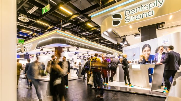 Messestand Dentsply Sirona IDS 2019